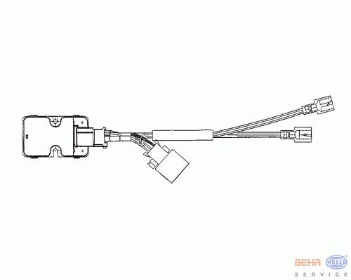 Регулятор моторчика печки блок управления.